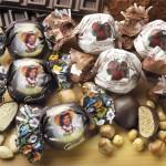 Amaretti ricoperti di cioccolato