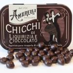 Chicchi di cioccolato e liquirizia