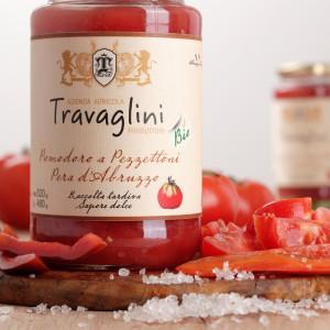 pomodori pezzettoni pera d'abruzzo