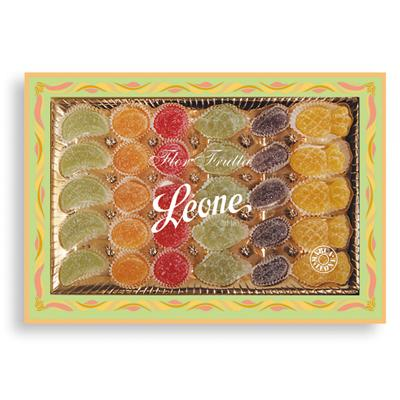 scatola gelatine leone