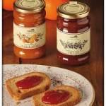 Confettura di fragole+frutti di bosco+mele e noci+pesche+prugne+arance e cannella+mirtilli+mirtillo rosso+arance+limone+ciliegie+fichi
